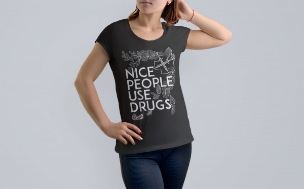 Ladies nice people use drugs mock